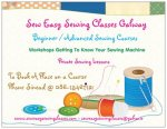 Sewing Courses Galway